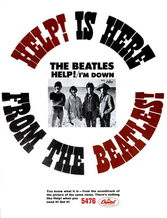 The Beatles' Vintage Ads (8)
