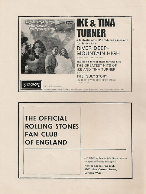 The Rolling Stones' 1966 Tour Programme (12)