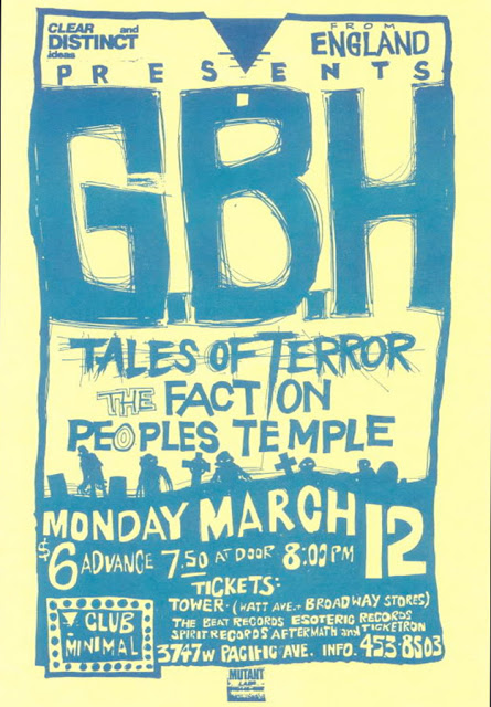 Amazing Punk Flyers & Posters from The 80s (23)