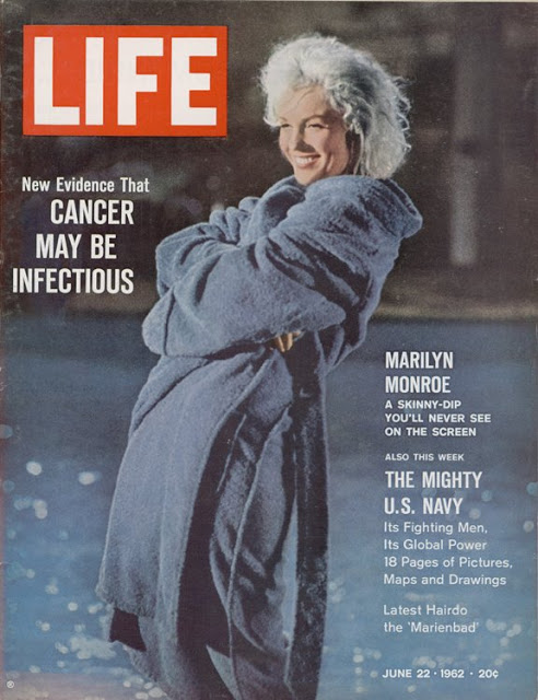 Marilyn Monroe on LIFE Magazine Covers, 1952-1962 (4)