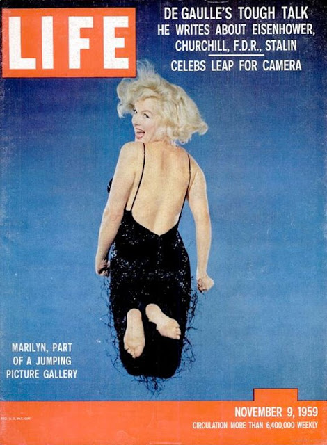 Marilyn Monroe on LIFE Magazine Covers, 1952-1962 (6)