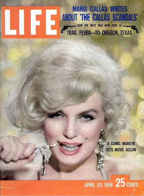Marilyn Monroe on LIFE Magazine Covers, 1952-1962 (7)
