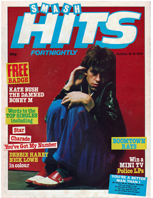 Vintage Covers Of  Smash Hits  Magazine (2)