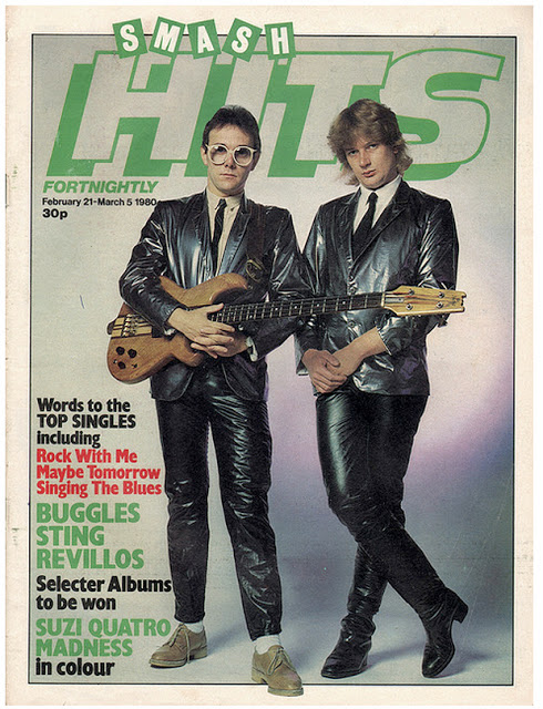Vintage Covers Of  Smash Hits  Magazine (6)