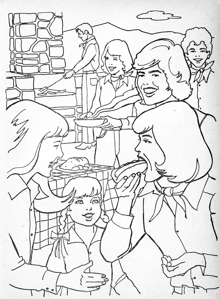 Ah, the Donny & Marie coloring book from 1977 - That Eric Alper