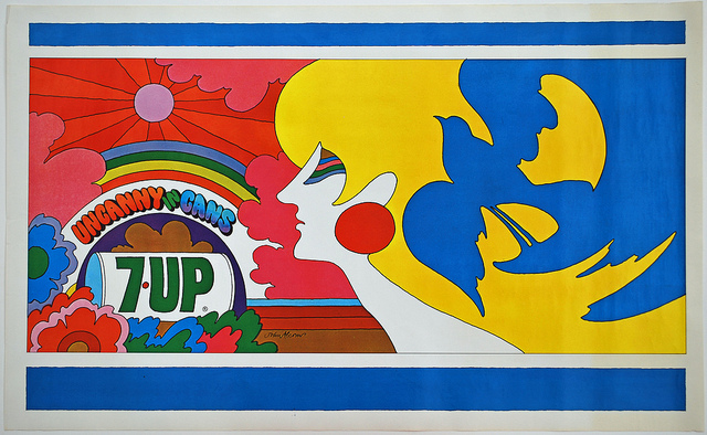 7UP Vintage Billboard Posters (3)