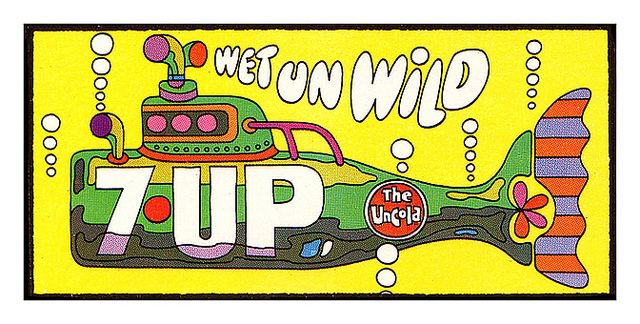 7UP Vintage Billboard Posters (8)