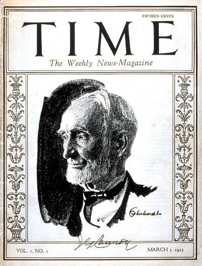 Time, 1923
