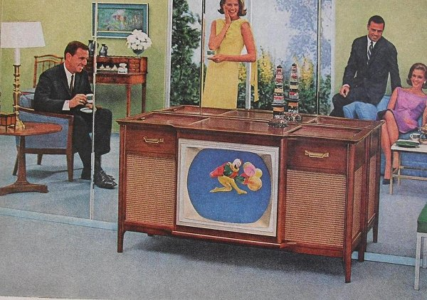 Vintage Color Television Ads (1)