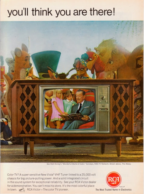 Vintage Color Television Ads (2)