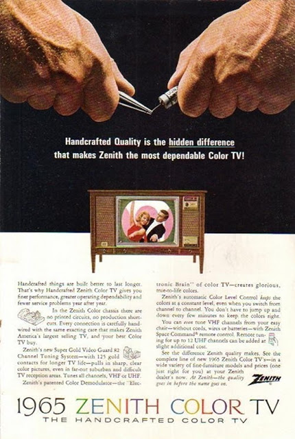 Vintage Color Television Ads (3)