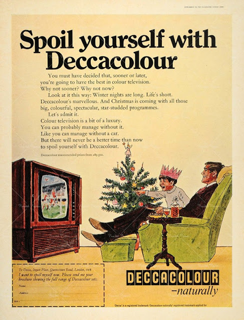 Vintage Color Television Ads (5)