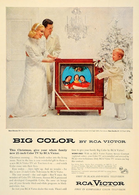 Vintage Color Television Ads (8)
