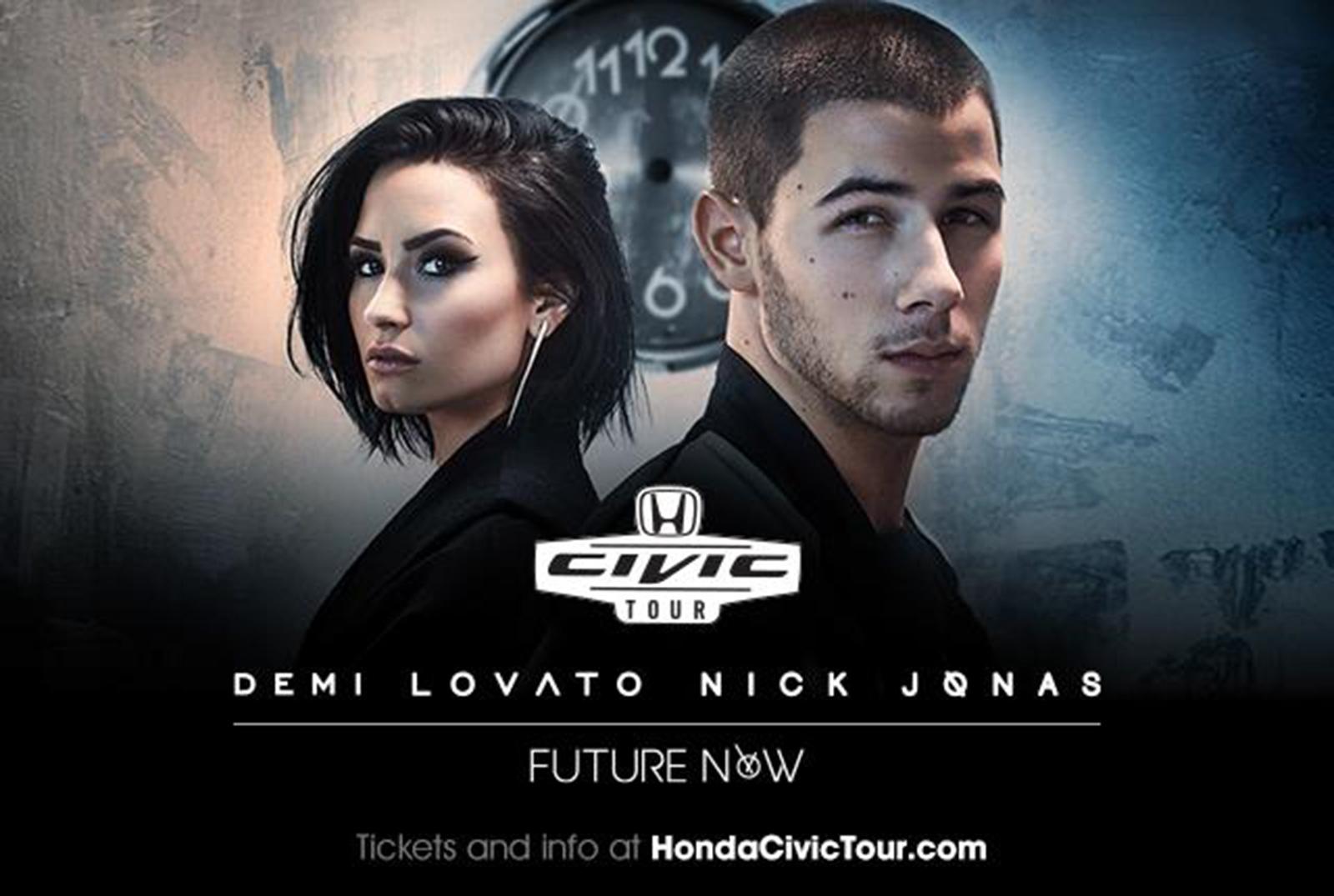 Demi Lovato And Nick Jonas To Headline 15th Anniversary Honda Civic