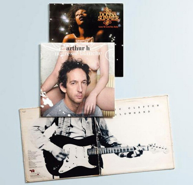 Christian Marclay - Album Cover Collages (11)