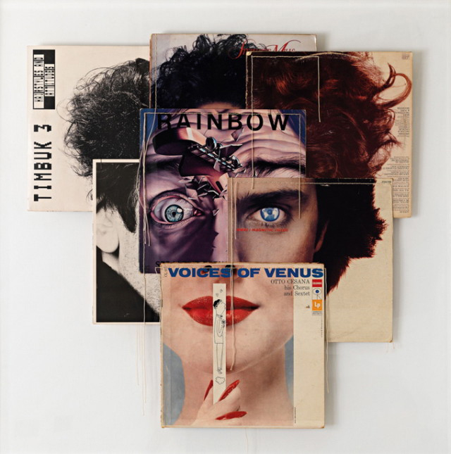 Christian Marclay - Album Cover Collages (12)