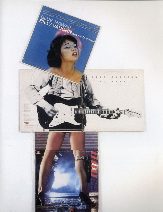 Christian Marclay - Album Cover Collages (9)