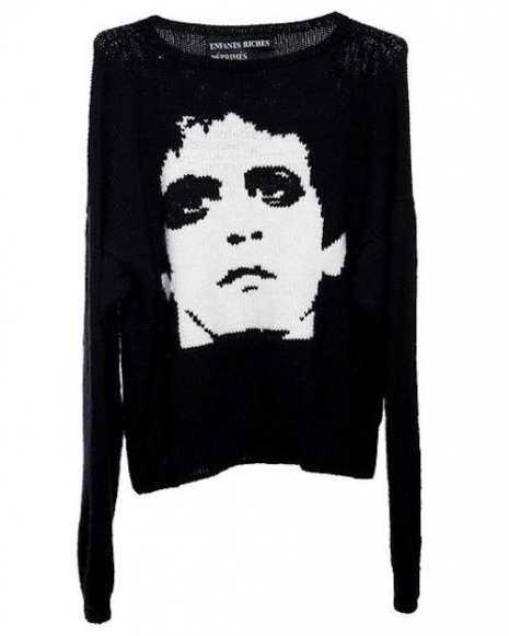 Transformer Lou Reed Sweater Will Set You Back   $2,730