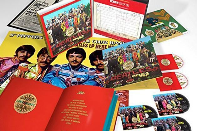 The Beatles Releasing 6 Cd Box Set Of Quot Sgt Pepper S