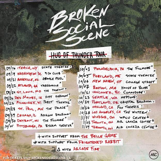 Broken Social Scene Releases