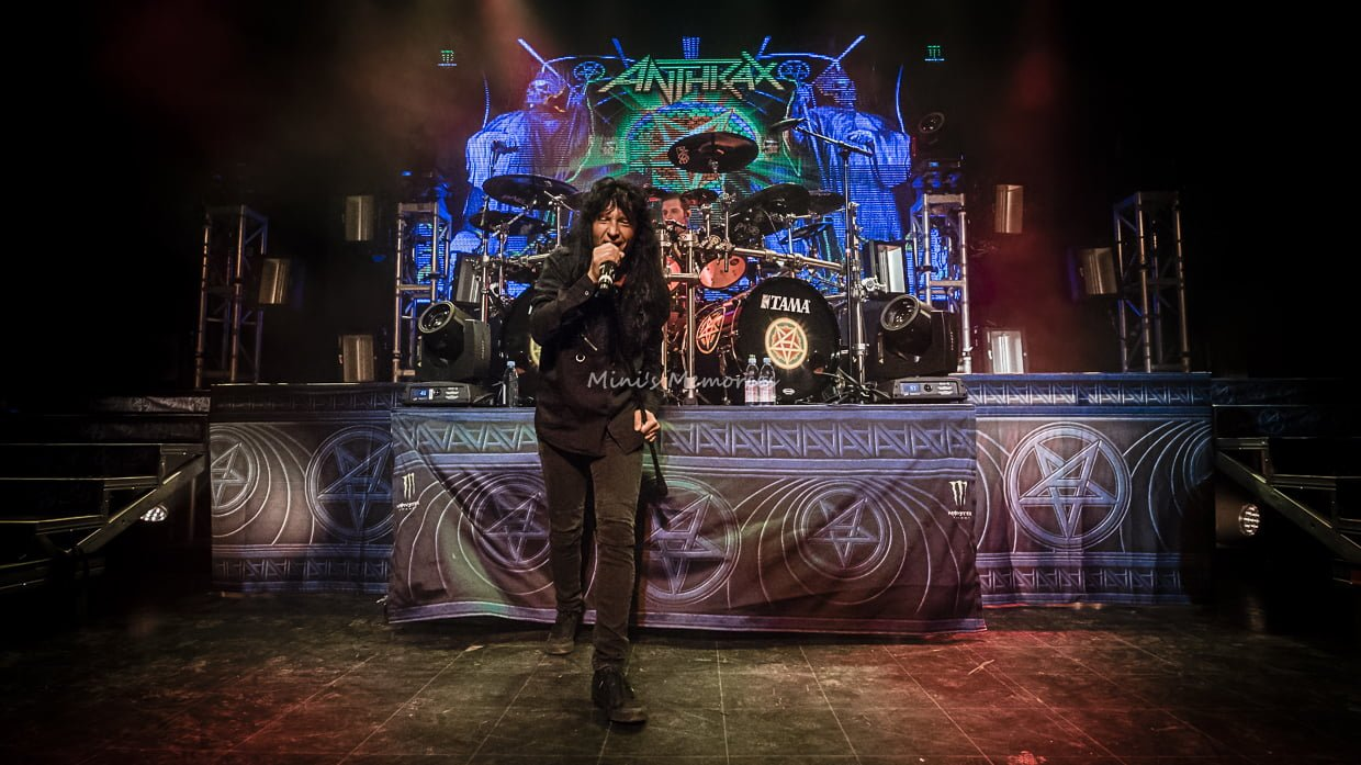 Photo Gallery: Anthrax with Killswitch Engage and Havok at
