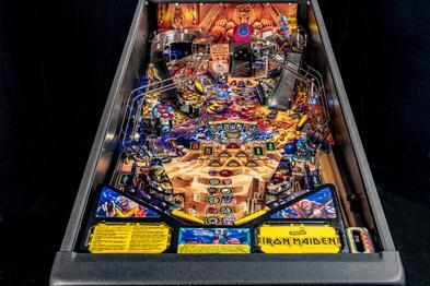 Stern Pinball Announces New Iron Maiden Pinball Machines