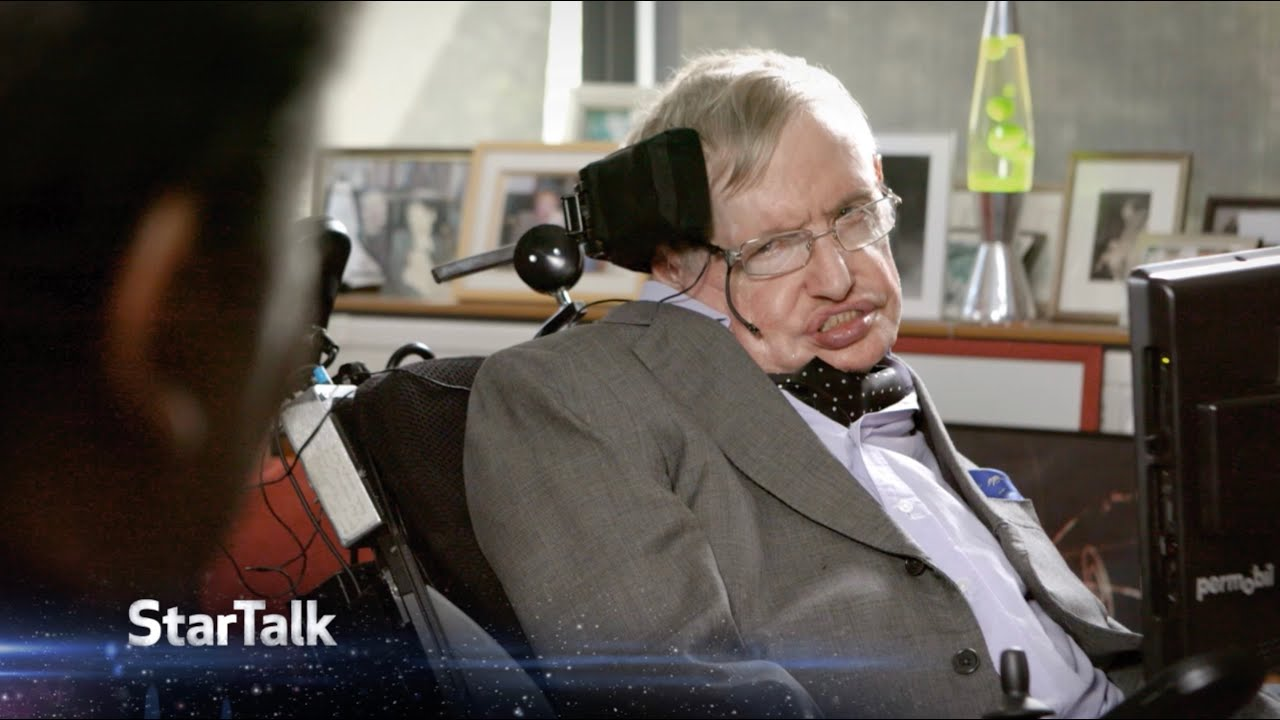 The Great Stephen Hawking Interviewed by Neil deGrasse Tyson Ten