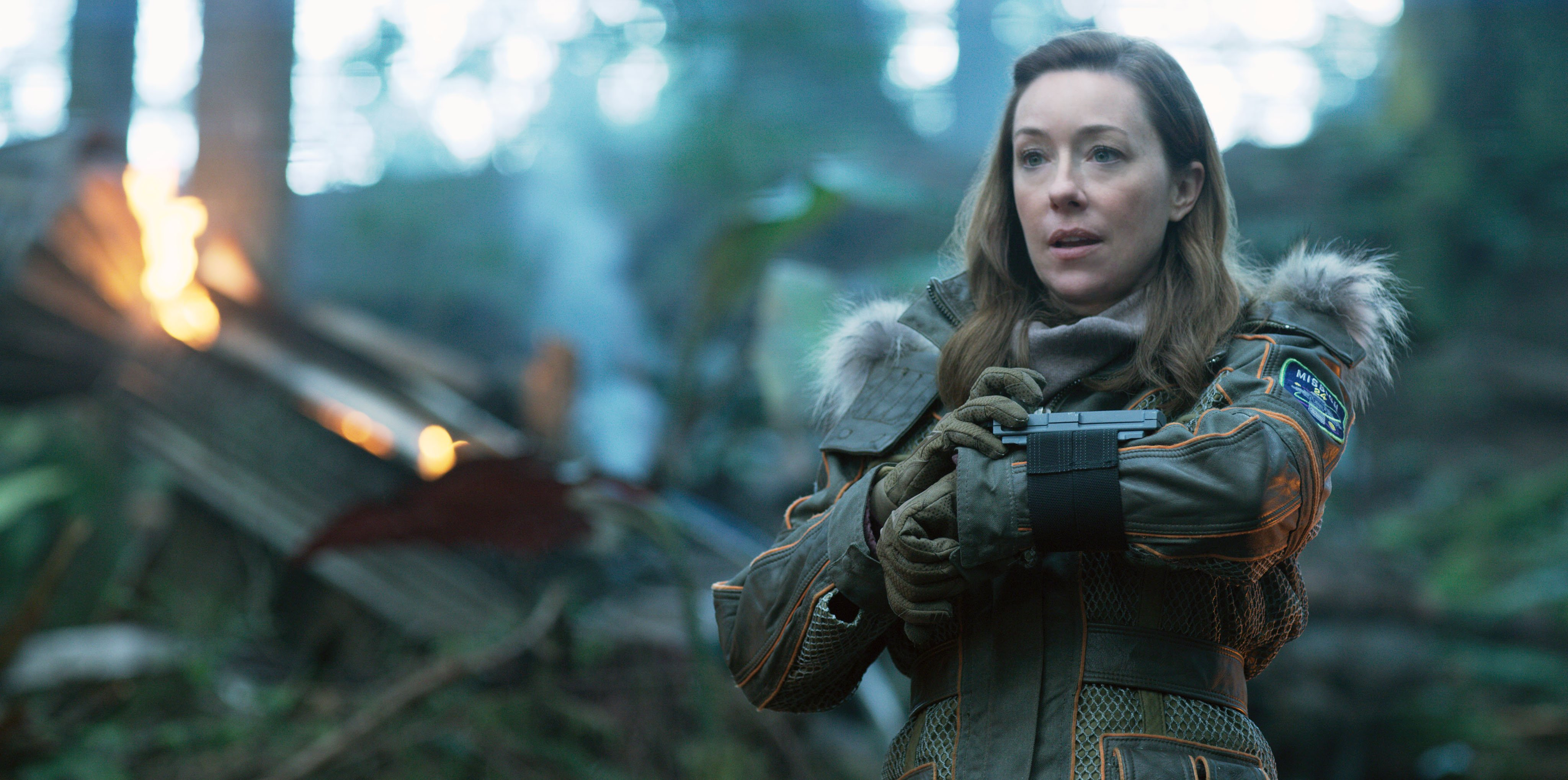 Molly Parker As Maureen Robinson On Lost In Space That