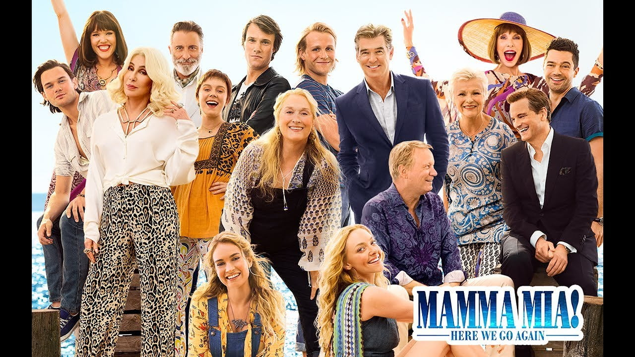 "6 July 2018 Released Movie: ""Mamma Mia! Here We Go Again"" Movie Soundtrack Set For"