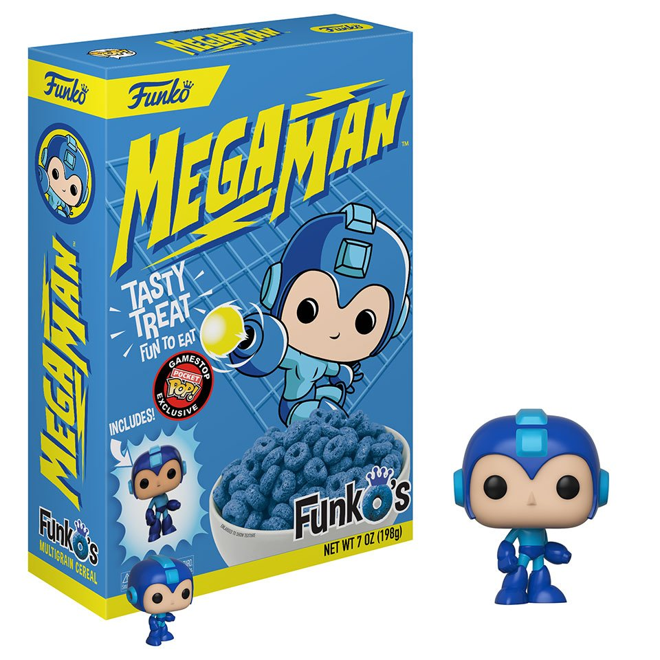 Funko Is Releasing A Line Of Breakfast Cereals Called