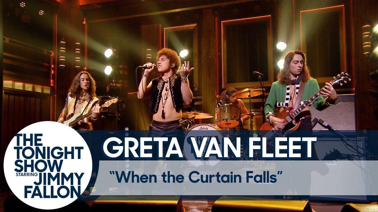 Greta Van Fleet Gets Standing Ovation Performing Quot When The