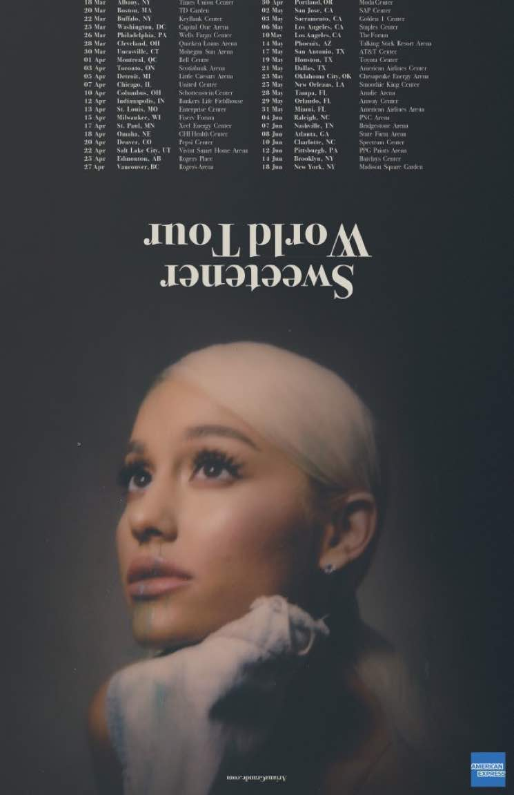 F Ariana Grande