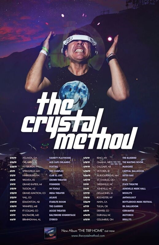 The Crystal Method Announce 2019 Tour Dates And New Remix