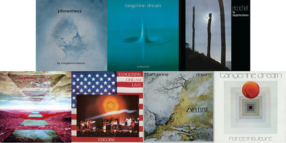 Tangerine Dream's 7 Classic Albums Remastered And Reissued