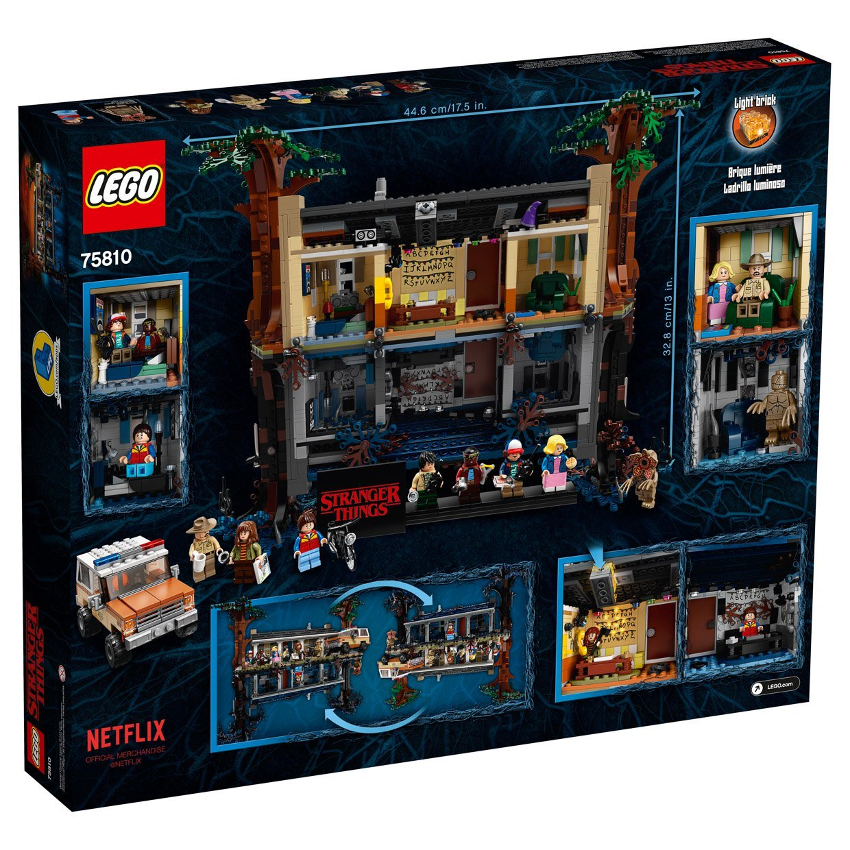 LEGO Stranger Things: The Upside Down, a 2,287-Piece Set