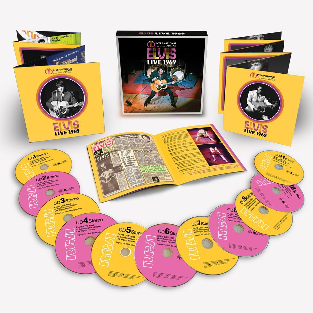 Elvis Presley Gets Two New Releases To Celebrate 1969 - That