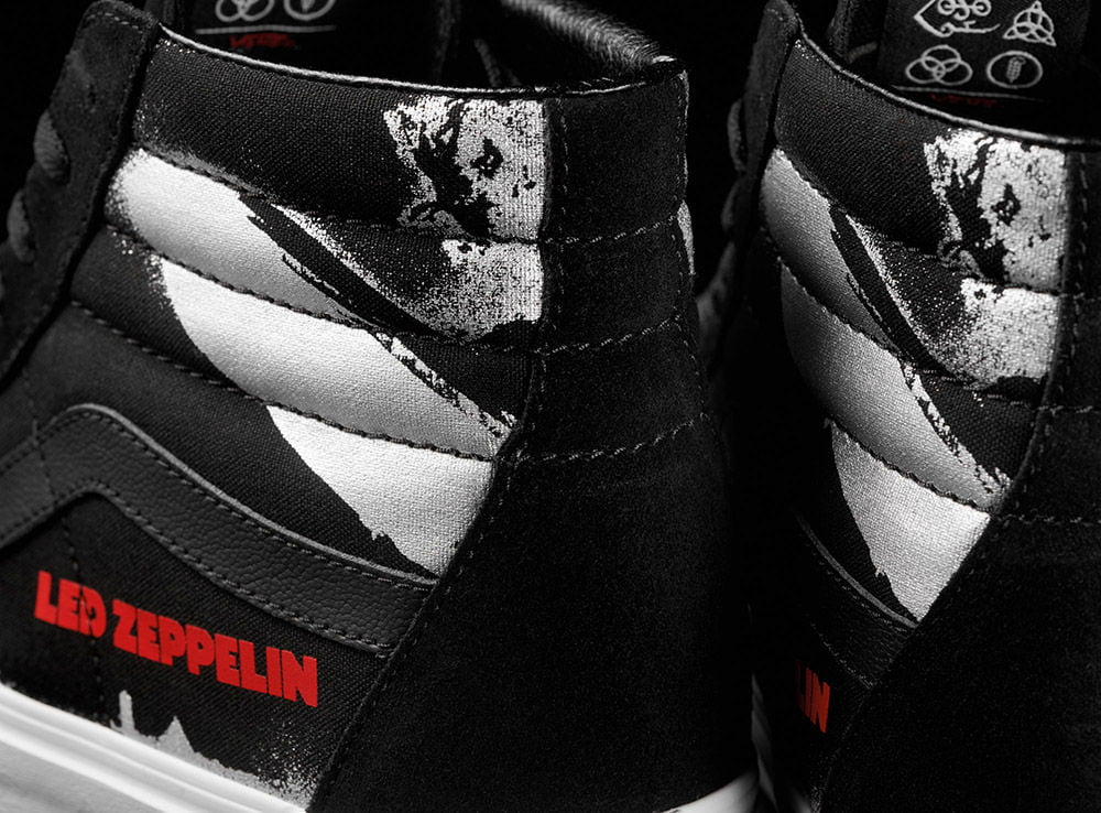 Led Zeppelin x Vans 50th Anniversary Collection: Official