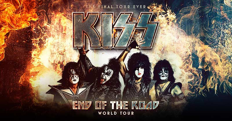 Kiss Tour 2020.Kiss Announces 2020 2021 End Of The Road Final Tour Dates