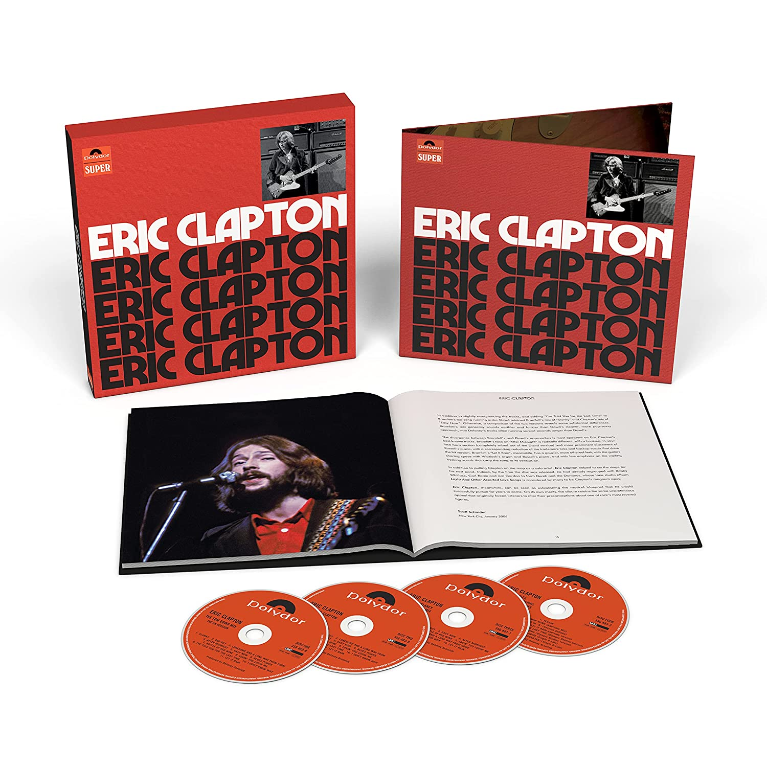 Eric Clapton To Release Anniversary Deluxe Edition Of Classic Debut Album - That Eric Alper